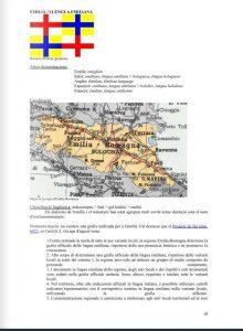Scansione di un testo universitario in catalano sulla lingua emiliana